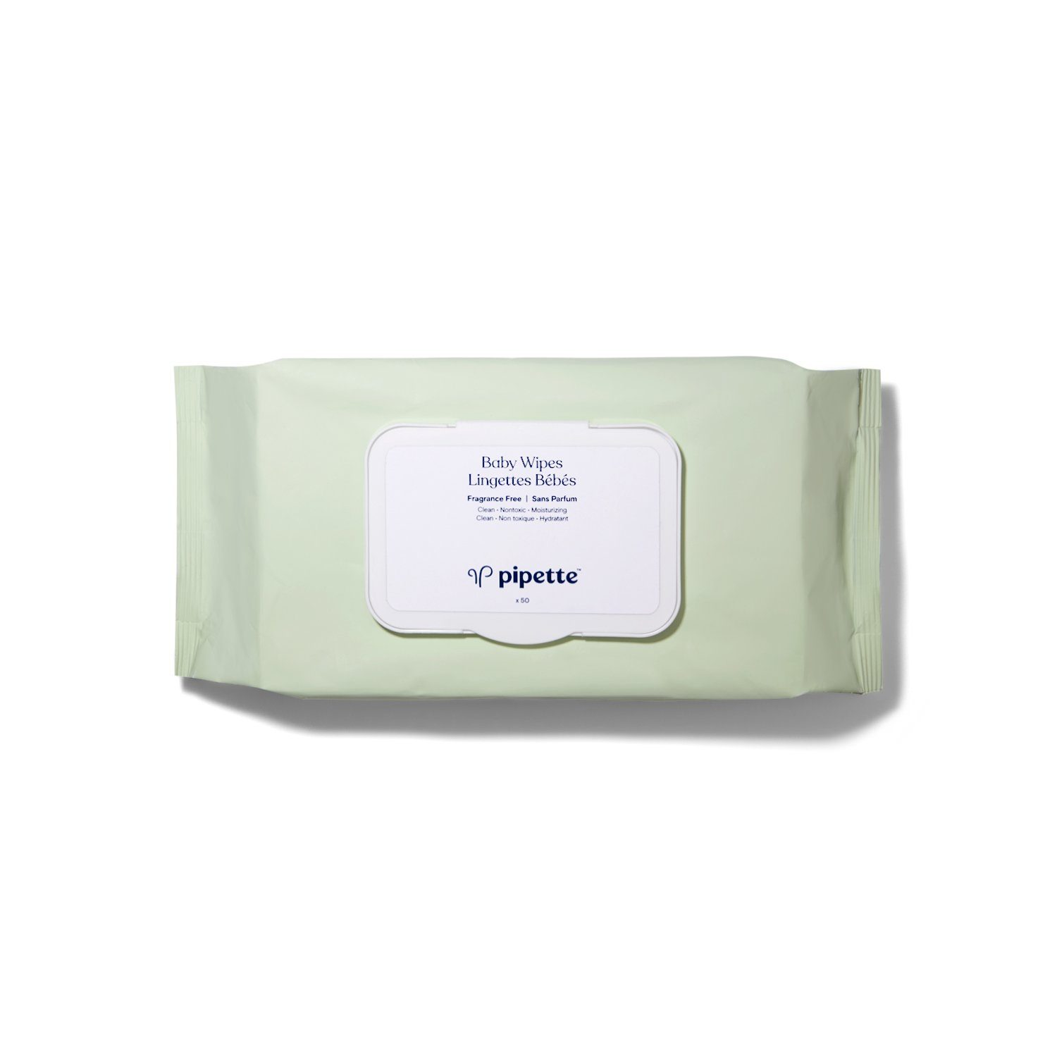 Pipette Baby Wipes Fragrance Free
