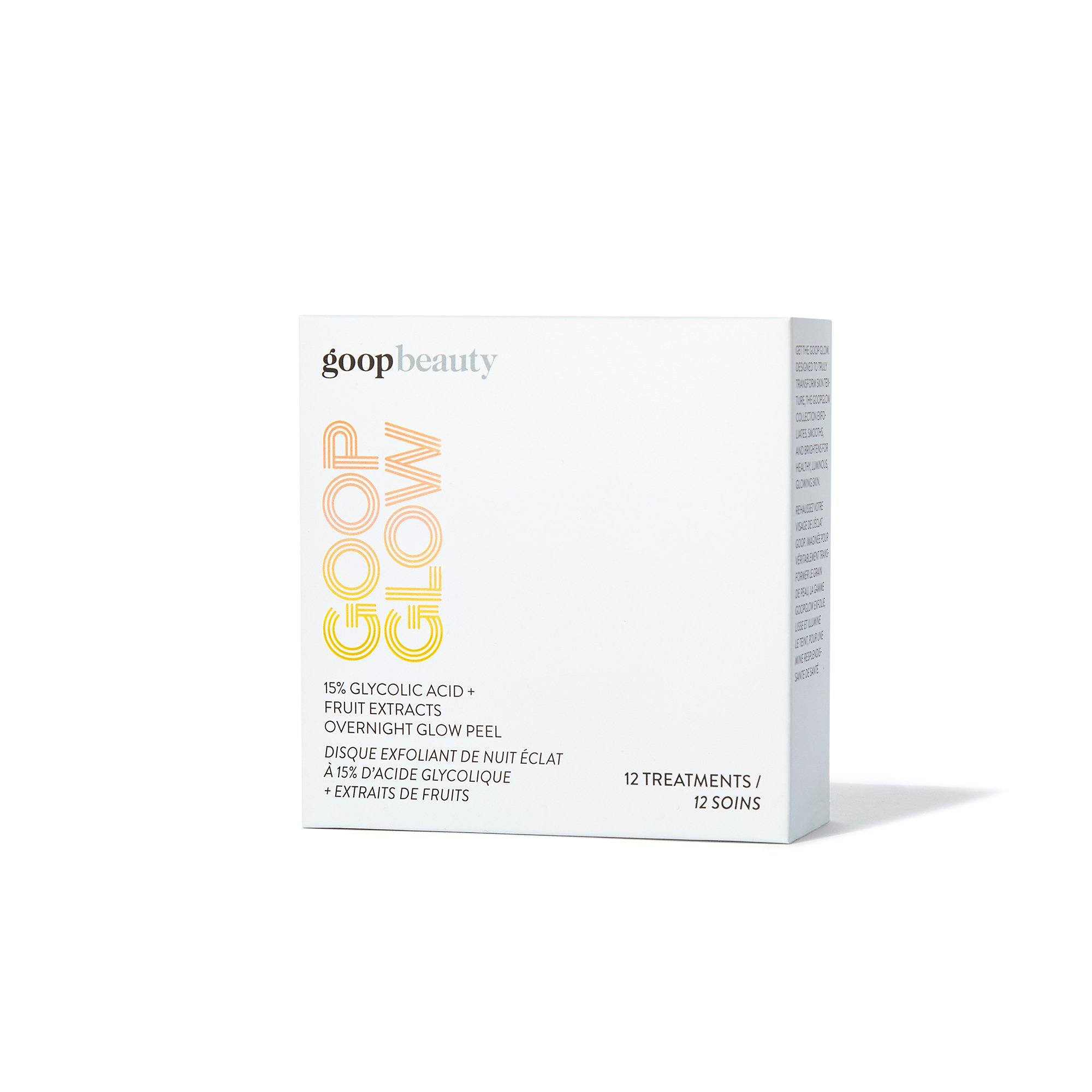 GOOPGLOW 15% Glycolic Acid Overnight Glow Peel