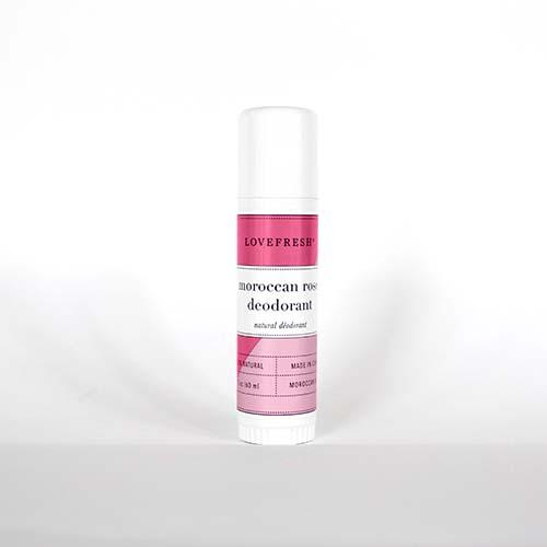 Lovefresh Moroccan Rose Deodorant - Loyalty