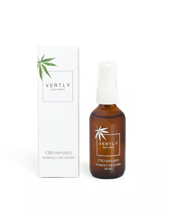 CBD Infused Workout Recovery Body Spray