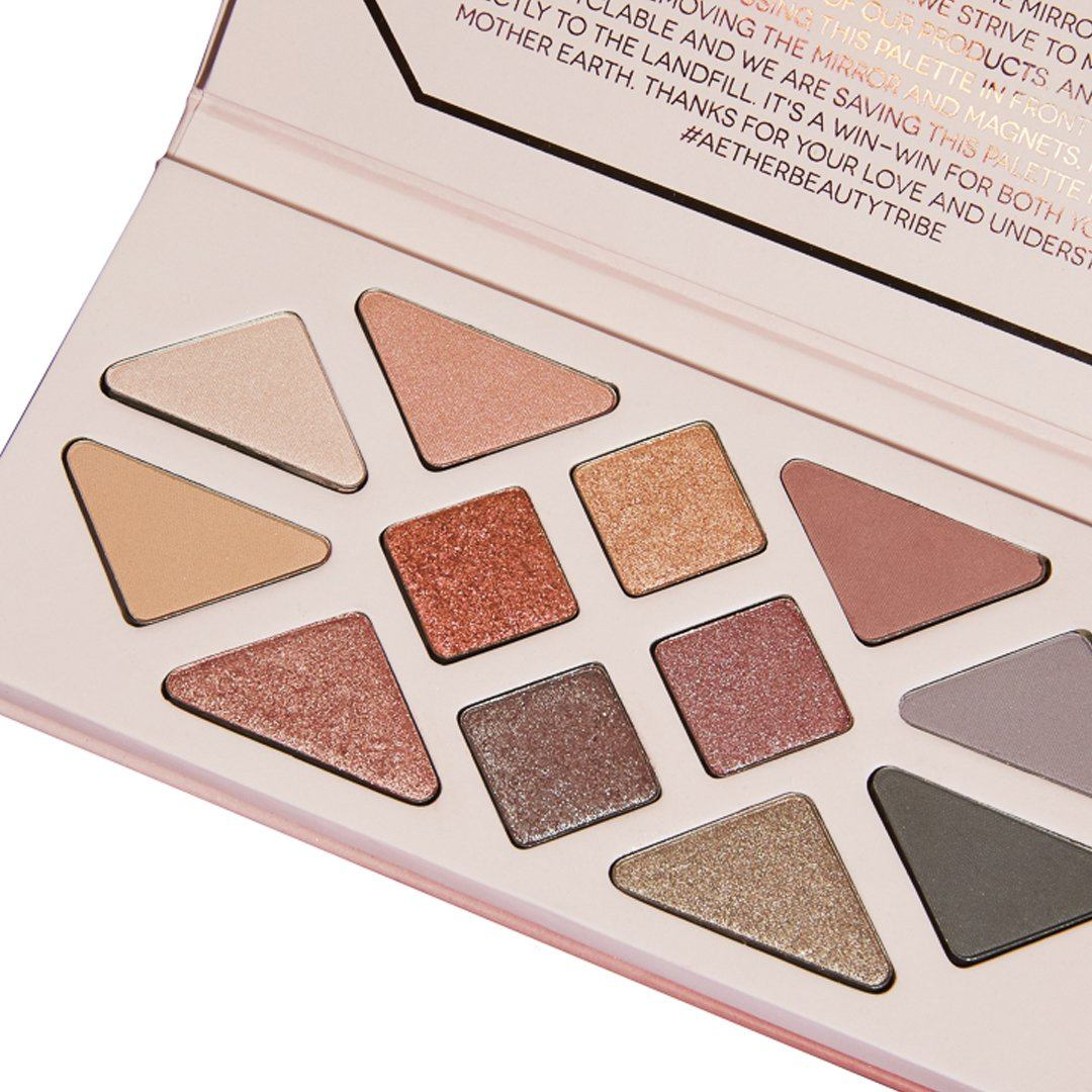 Rose Quartz Crystal Gemstone Palette by Aether Beauty #12