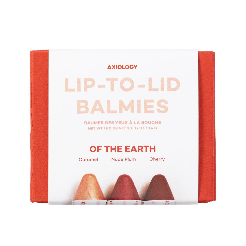 Of the Earth Lip-to-Lid Trio