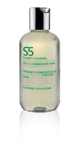 S5 Organic Cosmesceuticals Clarity Cleanser