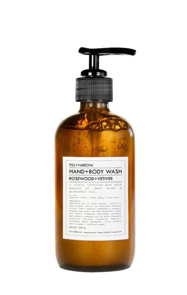 Hand & Body Wash Rosewood & Vetiver