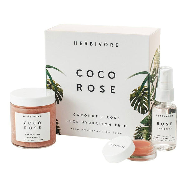 Coco Rose Luxe Hydration Trio | Herbivore Botanicals | Credo Beauty