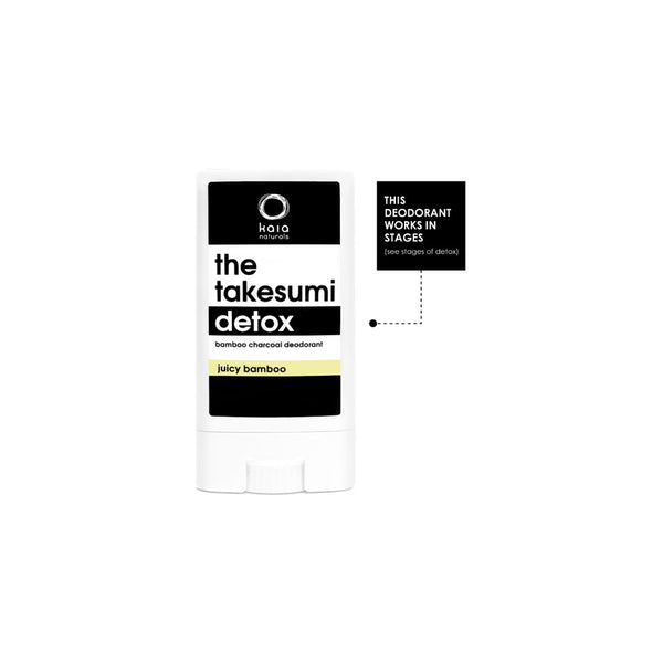 The Takesumi Detox Charcoal Deodorant | Kaia Naturals | Credo Beauty