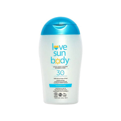 Mineral Sunscreen SPF 30 Fragrance-Free | Love Sun Body | Credo Beauty