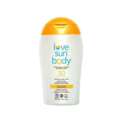 Mineral Sunscreen SPF 30 Lightly Scented | Love Sun Body | Credo Beauty