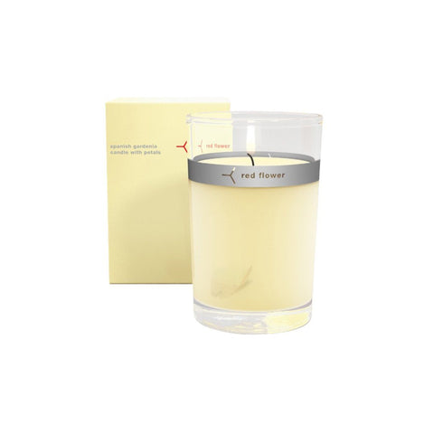 Petal Topped Candle Spanish Gardenia