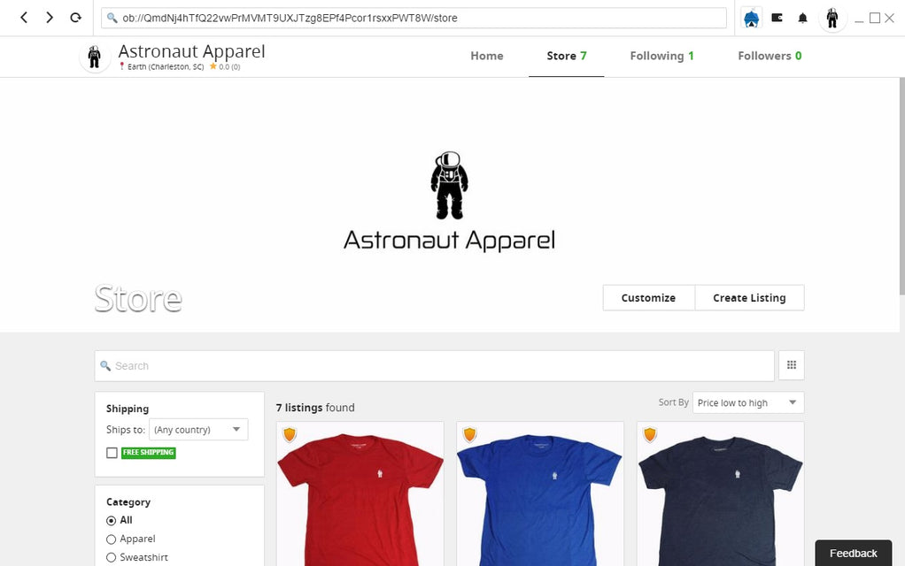 Astronaut Apparel May 2018 Update - All Systems Go!