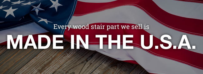 stair parts made in the USA