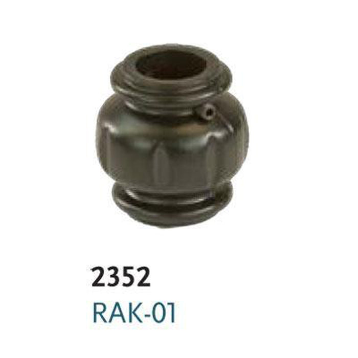 "Metal Railing | Iron Knuckle | RAK-01 5/8"" Round Flat Iron Shoe"