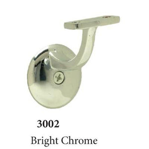 3002 Bright Chrome Wall Handrail Bracket Accessories Amish Craft by StepUP Stair Parts