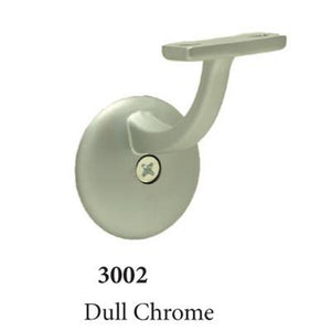 3002 Dull Chrome Wall Handrail Bracket Accessories Amish Craft by StepUP Stair Parts