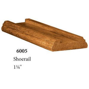 Quality Railing & Stair Accessories | 6005 Shoe Rail-Accessories-Amish Craft by StepUP Stair Parts