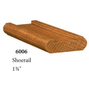 Quality Railing & Stair Accessories | 6006 Shoe Rail-Accessories-Amish Craft by StepUP Stair Parts