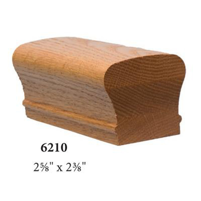 Wood Railings | Banister | 6210P Solid Plowed Handrail
