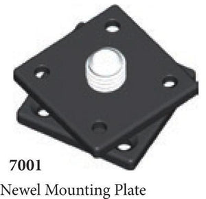 Quality Railing & Stair Accessories | 7001 Newel Mounting Plate-Accessories-Amish Craft by StepUP Stair Parts