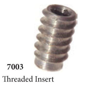 Quality Railing & Stair Accessories | 7003 Threaded Insert-Accessories-Amish Craft by StepUP Stair Parts