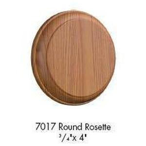 Quality Railing & Stair Accessories | 7017 Rosette-Accessories-Amish Craft by StepUP Stair Parts