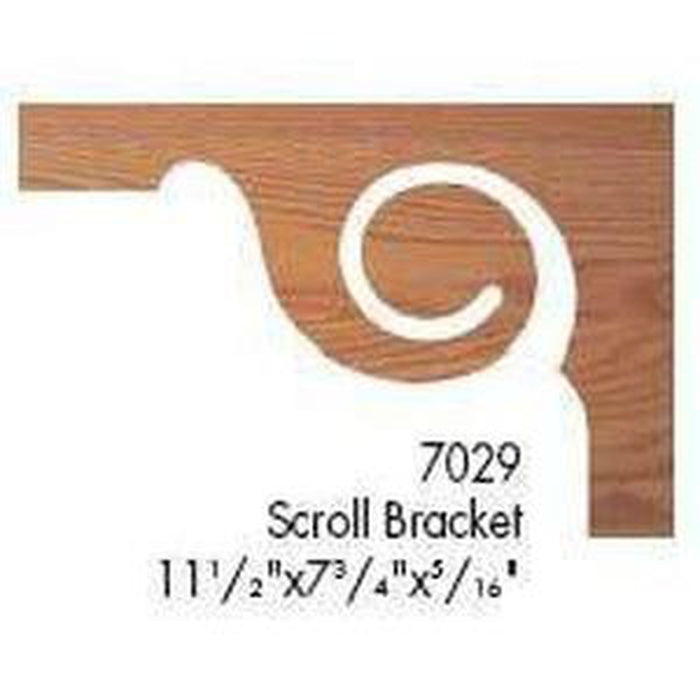 Quality Railing & Stair Accessories | 7029 Scroll Bracket