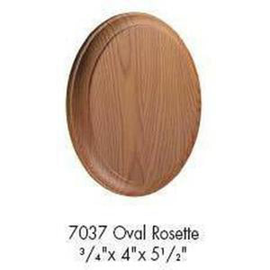 Quality Railing & Stair Accessories | 7037 Rosette-Accessories-Amish Craft by StepUP Stair Parts