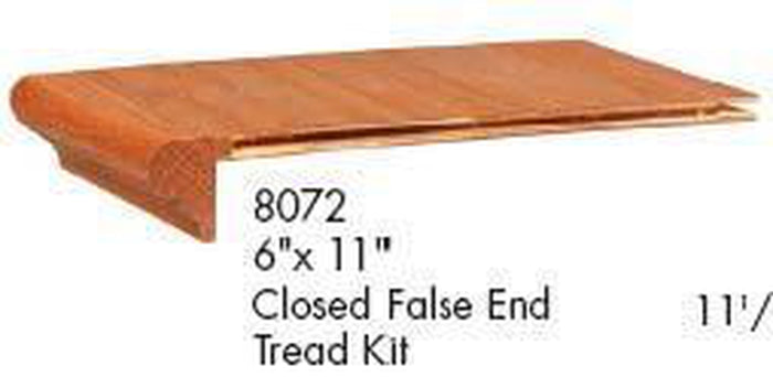 Premium Remodel | USA Crafted 8072 Closed False Tread Kit w/ Riser