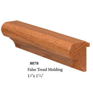 Premium Remodel | USA Crafted 8078 False Tread Nosing-Treads & Risers - False/Retrofit-Amish Craft by StepUP Stair Parts