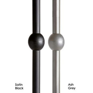 "16.8.13 Double Sphere Ball 5/8"" Round Simply Modern Iron Baluster Spindle by StepUP Stair Parts"
