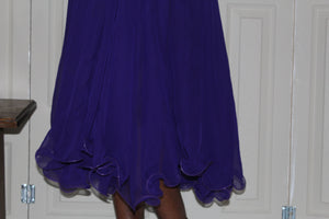 Sheer purple Skirt