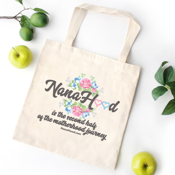 NanaHood Tote Bag - Natural Cotton Canvas