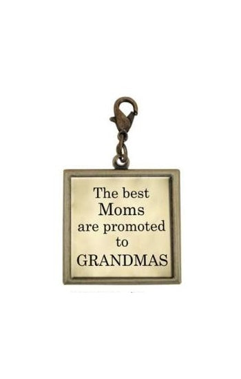 Single Square Grandma Charm