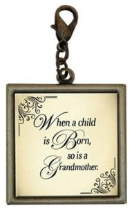 Single Square Grandmother Charm