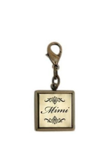 Single Square Mimi Charm