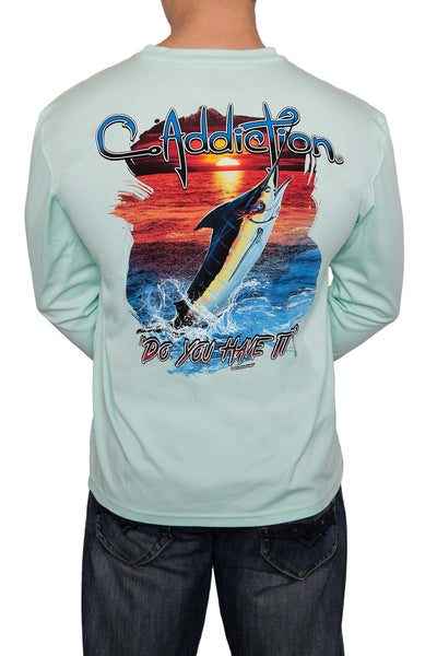 Marlin UPF50+ Long Sleeve - Sea Frost
