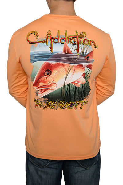 Redfish Denali UPF50+ Long Sleeve - Tangelo