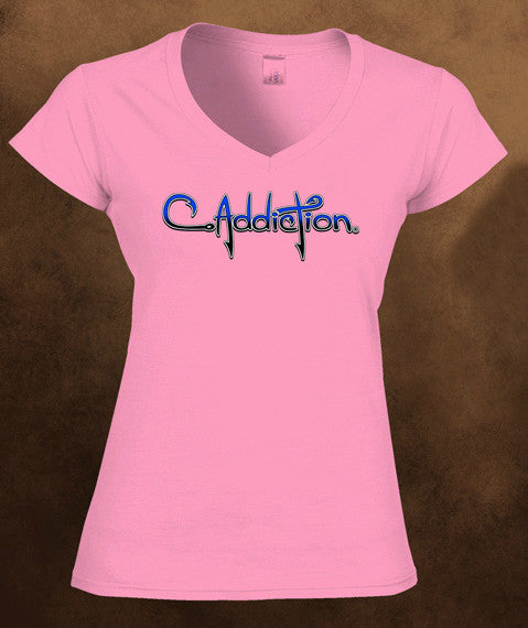 C Addiction V-Neck - Pink