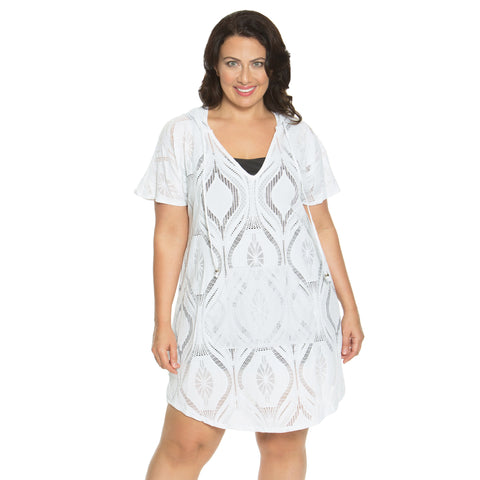 Dotti Women's Plus Size Swim Cover Up -  -Final Clearance - NO RETURNS