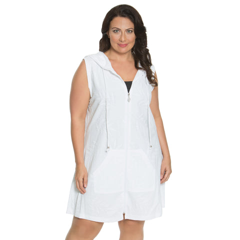 Pretty Palm Women's Plus Size Cover-Up from Dotti