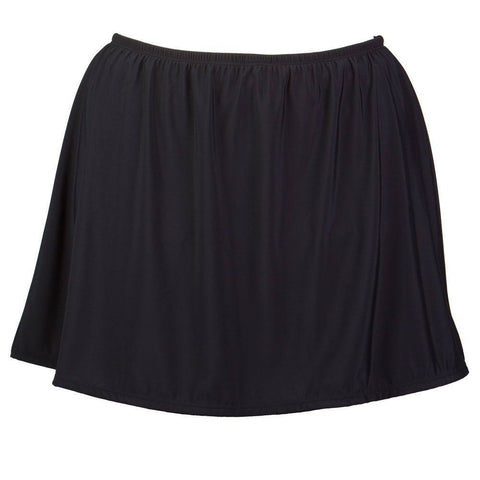 Plus Size Swim Skirt with Built-in Brief - Available in  5 COLORS