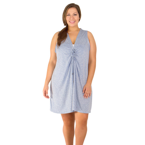 Opposites Attract Women's Plus Size Cover-Up from Dotti