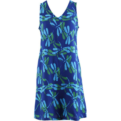 Easy On Plus Size Sundress - Dragon Fly