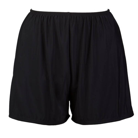Plus Size Swim Shorts with Built in Panty - Available in 4 COLORS