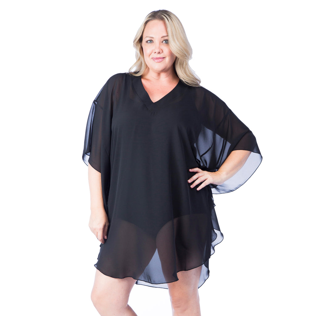 Maxine of Hollywood Plus Size Cover-up and Beach wear for plus size women