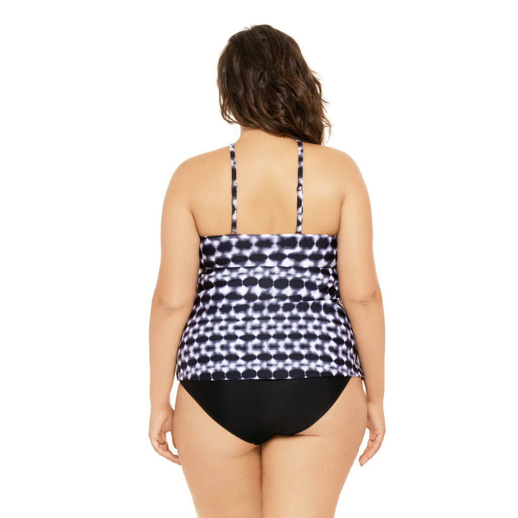 f60c545829979 Plus Size Halter Tankini Swimsuit Top | Swimsuits Just For Us