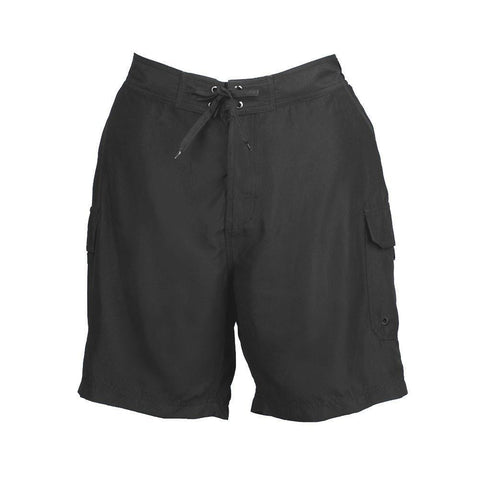 Plus Size Board Shorts by SZ - Black