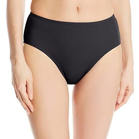 Fit 4 U Black Plus Size Swim Bottoms - Final Clearance - NO RETURNS