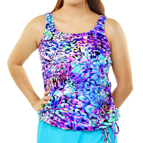 Women's Long Swimwear Top by Topanga  - Seaside Dream