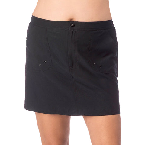 Maxine Plus Size Board Skirt with Built in Panty