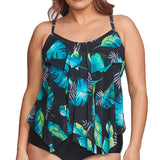 Mazu-Swimwear-Style-Number-4MZ7203FLL-Floating-Leaf at SwimsuitsJustForUs.com | Front View